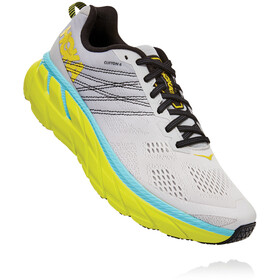 Hoka One One Clifton 6 Schoenen Heren, lunar rock/nimbus cloud